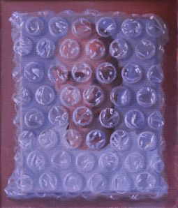 Life in a bubble, oil on canvas, 2013, 10.5x12 cm
